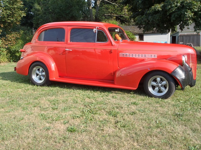 1939 chevrolet deluxe 2 door sedan street rod 25 000 for 1939 chevy 2 door